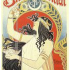 Bitter Oriental Poster 1897 by Privat Livemont