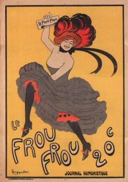 Le Frou Frou French Poster