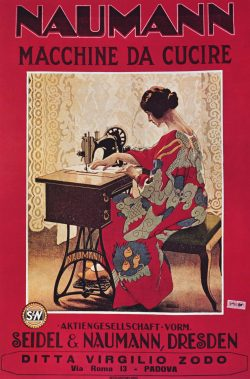 A Seidel and Naumann Sewing Machine