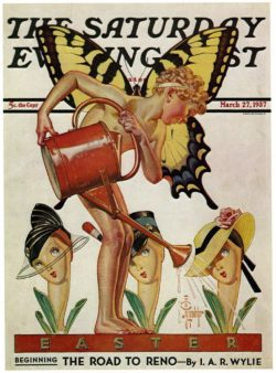 The Saturday Evening Post Magazine Cover