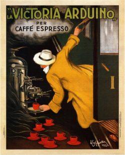 La Victoria Caffe Expresso Poster
