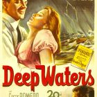 Retro Movie Poster Art – Deep Waters , Henry King 1948