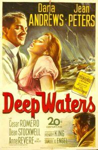 Retro Movie Posters - Deep Waters , Henry King , 1948