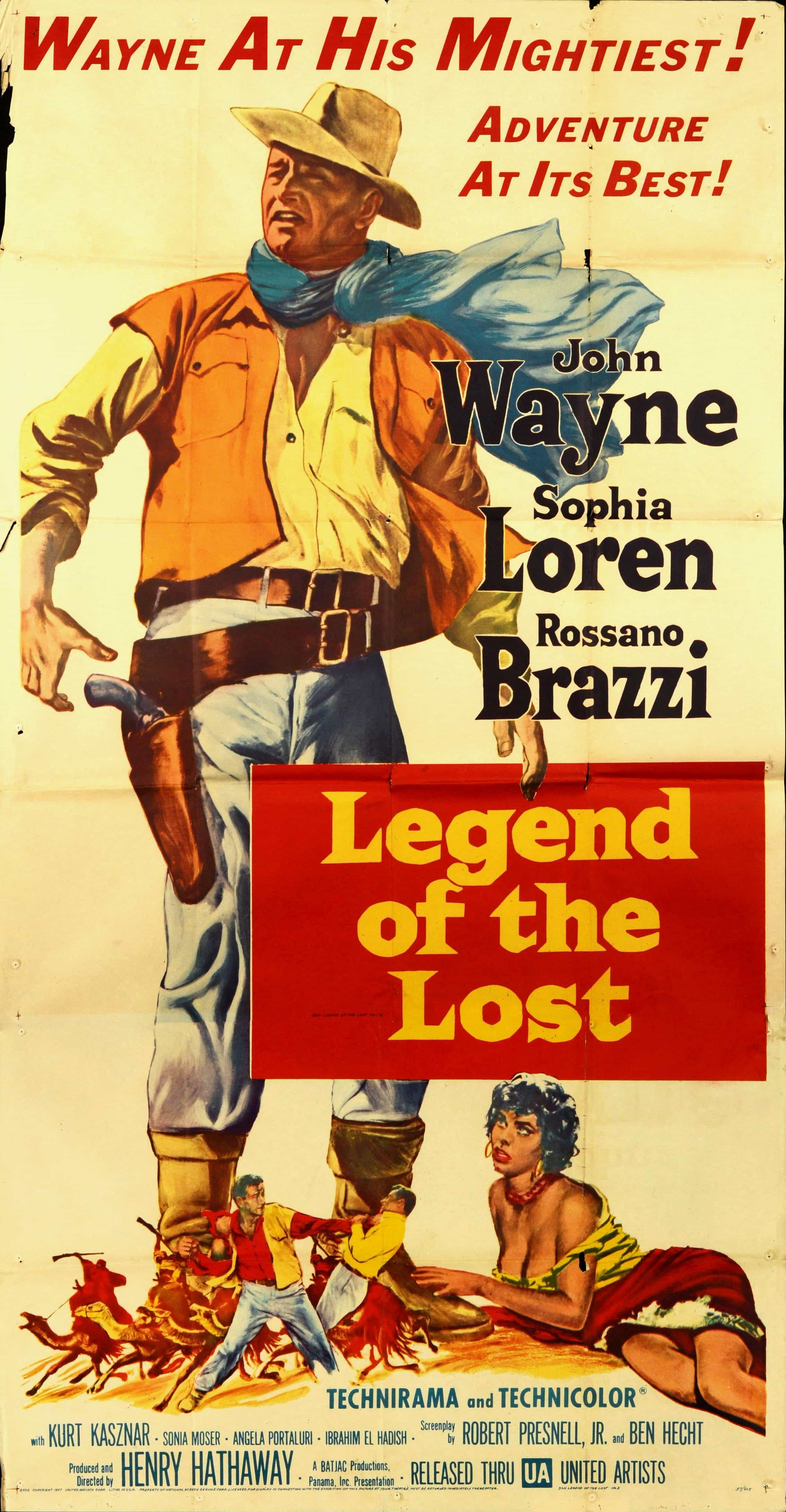 Hi Res Vintage Movie Poster Legend of the lost