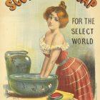 """Scotland's Soap"" Poster by Jean de Paleologue, 1893"