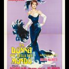 Retro Movie Poster La Donna Piu Bella Del Mondo, 1955, R. Fratini