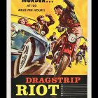 Dragstrip Riot Retro Movie Poster,1958