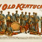 1894 Kentucky Pickaninny band Vintage poster