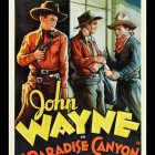 John Wayne Paradise Canyon, 1935 Movie Poster