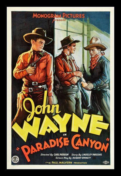 1935 Paradise Canyon Western Movie-Carl L. Peirson
