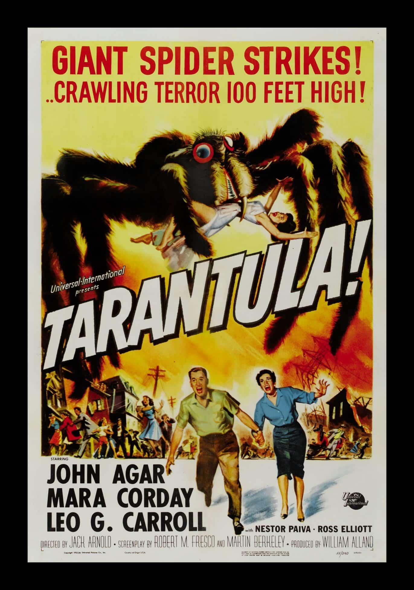 Tarantula! Giant Spider Strikes 1955 Retro Movie Poster