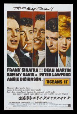 Retro Movie Poster: Ocean's 11