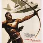 Vintage Airline Poster: French African AEROMARITIME