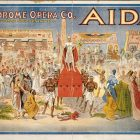 Aida – Hippodrome Opera Co Theatrical Poster, 1908