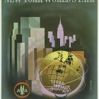 American Airlines: New York World's Fair – Airline Tourism Poster by Henry Bencrathy, 1964