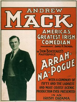 Andrew Mack, America's Greatest Irish Comedia 1906 by U.S. Lithograph Co.
