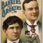 Retro Theatrical Poster – Bankers and Brokers, 1906