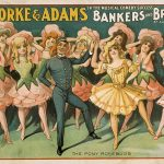 "Theatrical Poster ""Bankers and Brokers"" by Aaron Hoffman, 1906"