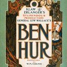 Vintage Play Poster – Ben-Hur Klaw & Erlanger's Production, 1901