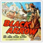1944 Black Arrow by Lew Landers – High Resolution Classic Movie Poster