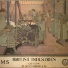 British Industries – COTTON Poster by Frederick Cayley Robinson, 1924