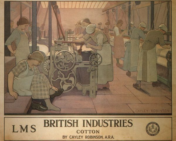 British Industries Cotton Frederick Cayley Robinson