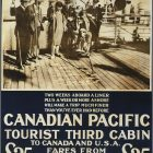 Canadian Pacific: A Fine Holiday at Sea Vintage Travel Poster