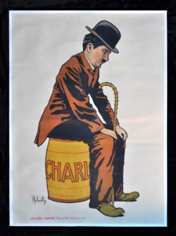 """Charlot"" Charlie Chaplin Poster by Roberty, 1917"