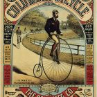 The Pope Mfg. Co. Columbia Bicycle, Vintage Bicycle Advertisement Poster