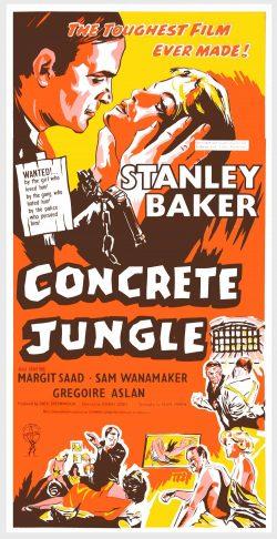 Classic Movie Poster: Concrete Jungle by Joseph Losey
