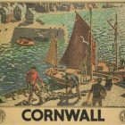 Vintage Travel Poster: Cornwall by Ronald Lampitt, 1936