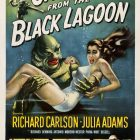 Retro Movie Poster: Creature from the Black Lagoon by Jack Arnold