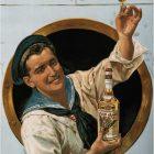 Vintage Advertising Poster: Elixir D' Anvers by Gerard Portielje