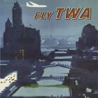Chicago – Fly TWA Vintage Travel Poster