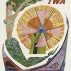 Fly TWA: Portugal Vintage Travel Poster