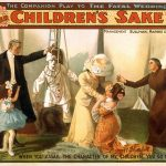 Vintage Theatrical Poster – For Her CHILDREN'S SAKE by Theo Kremer — Classic Theatrical Poster, 1902