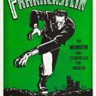 Frankenstein Vintage Horror Movie Poster, 1931