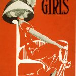 Girls-Broadway-Show-by-Clyde-Fitch-Vintage-Poster-1906
