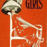 Girls Broadway Show – Miss Violet Vintage Poster, 1906