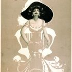 Girls Broadway Show – Miss Pam Vintage Poster, 1906