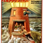 Vintage Play Poster: Happy Hooligan – I Always Was a Jonah, 1902