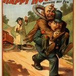 Happy-Hooligan – Removing-an-Obstruction-Vintage-Poster-1902
