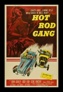 Hot Rod Gang Vintage Film Poster