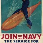 Vintage War Posters: Join The Navy