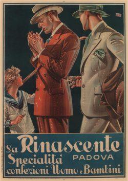 J C Leyendecker Artwork: La Rinascente