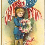 Ellen Clapsaddle: Lest We Forget Postcard 1908