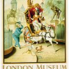 Retro Poster 'London Museum – St. James Park Station' by Rex Whistler, 1928