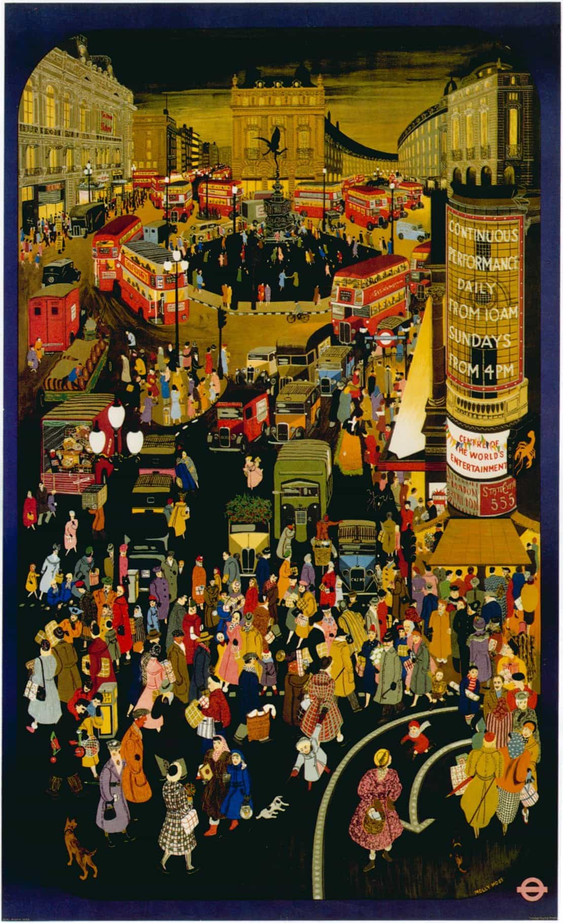 London Underground Advertising Posters: Out and About ...