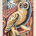 'Heath – Owl' Poster for London Underground by Rosemary and Clifford Ellis in 1933
