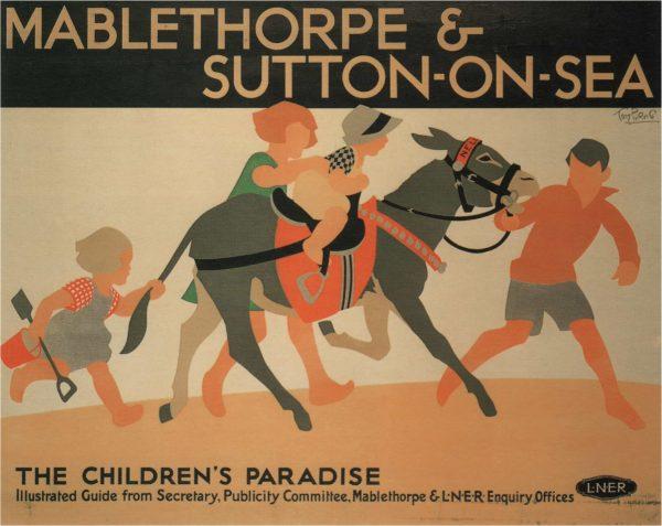 Mablethorpe & Sutton-on-Sea-poster- LNER, 1923-1947